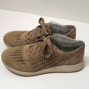 DANSKO Charlie Suede Perforated Sneakers size 38